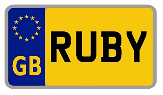 Personalised Kids Licence Plates For Cozy Coupe £2.29 Delivered @ Amazon