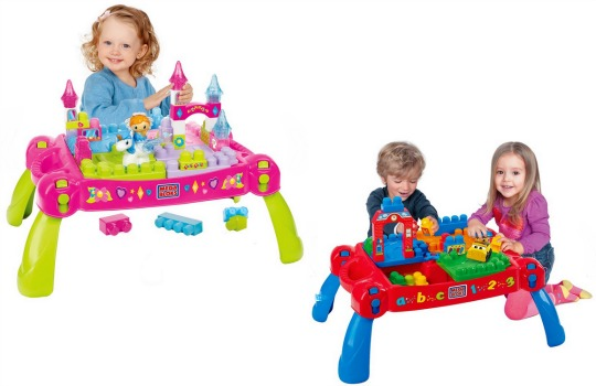 Mega Bloks Princess Fairytale Table/Build & Learn Table £19.99 @ Smyths