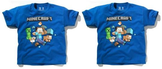 Minecraft T-Shirt was £7.99, now £5.32 @ Argos