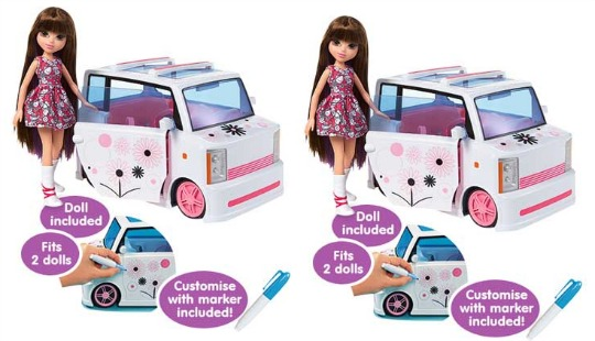 Moxie Girlz Art-titude Car and Doll Playset £5.99 @ Argos