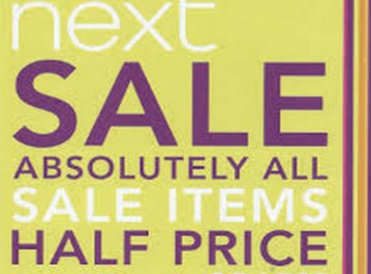 Heads Up: Mid Season Next Sale Is Happening Soon