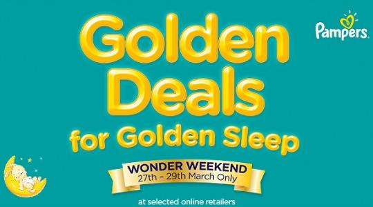 Pampers Wonder Weekend NOW ON!