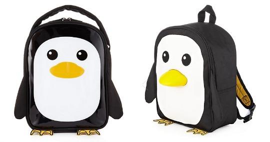 Penguin Rucksack or Lunchbox: was £14, now £5 each @ Marks & Spencer