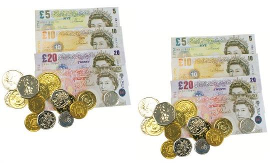 Henbrandt Sterling Play Money £1.04 Delivered @ Amazon Seller: Simply Direct Ltd