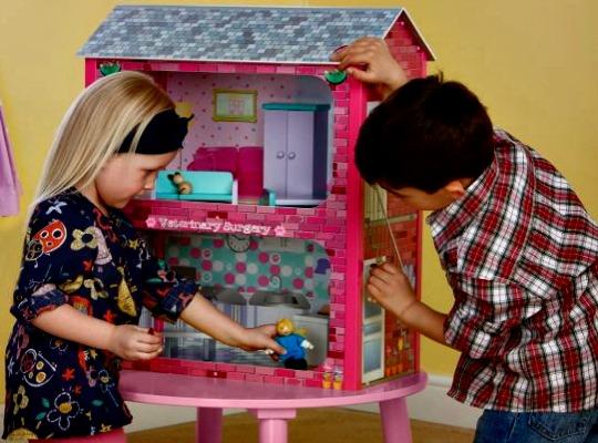 Plum Camden Court Wooden Dolls House with Accessories £25.67 @ Tesco Direct
