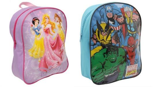 Avengers or Disney Princess Rucksack £3 Delivered @ Sports Direct eBay