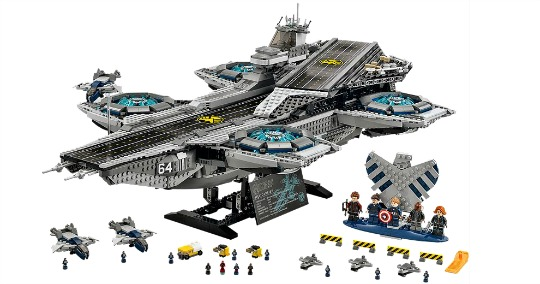 Exclusive LEGO Marvel Super Heroes The SHIELD Helicarrier: Pre-order @ The Lego Shop