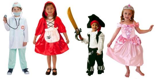 Kids Fancy Dress Costumes from £4.99 @ Smyths Toys