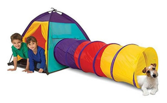 Adventure Tent & Tunnel £9.99 (or £7.49 with code) @ The Works