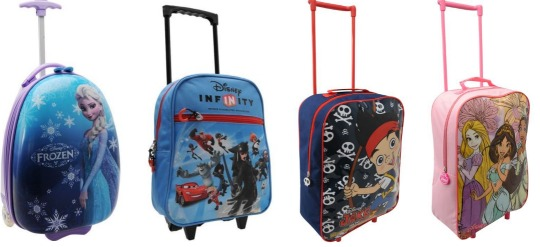 Kid's Character Trolley Cases from £4 DELIVERED @ Sports Direct on eBay