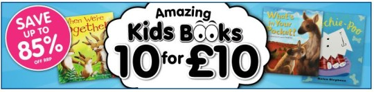 10 Bedtime Stories For £10 And £5 Off £20 Spend @ The Works