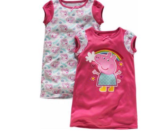 2-Pack Peppa Pig Nightdress £6.49 @ Argos