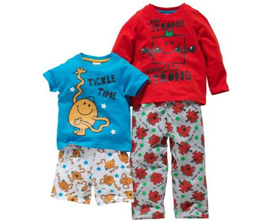 Mr Men Pyjamas 2-Pack £3.89 @ Argos