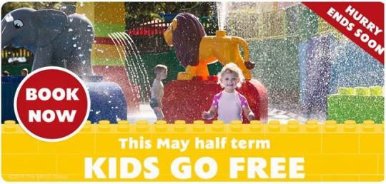 Kids Go Free May Half Term To LEGOLAND Windsor