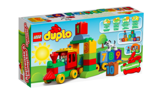 Lego Duplo Number Train £9.00 Was £13.59 @ Amazon