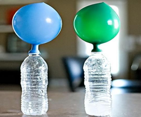 Fun Experiment To Do With The Kids: Inflating A Balloon With Bicarbonate Of Soda And White Vinegar