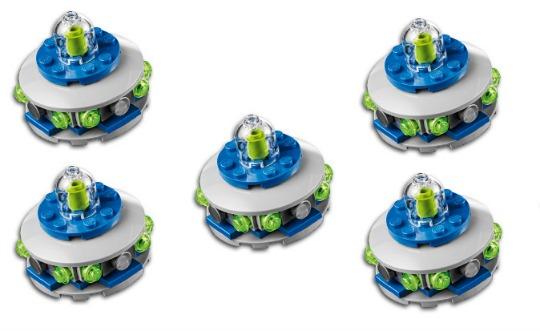 FREE Lego UFO Mini Build Kit