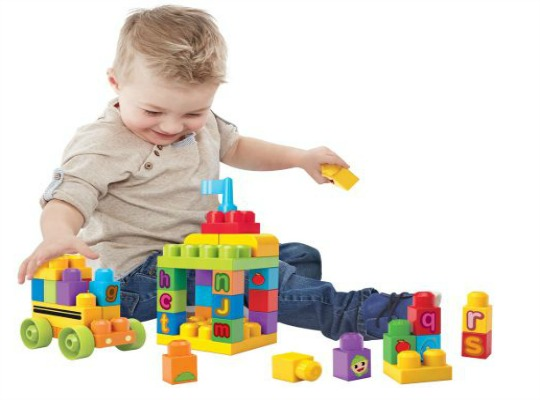 Mega Bloks First Builders ABC Spell School Bus £2.99 @ Argos