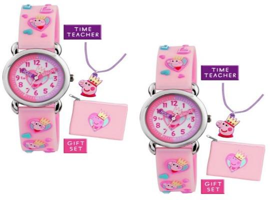 Peppa Pig Watch Gift Set £9.99 @ Argos