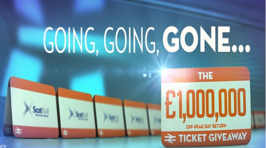 FREE Off Peak Day ReturnTrain Tickets @ Scotrail
