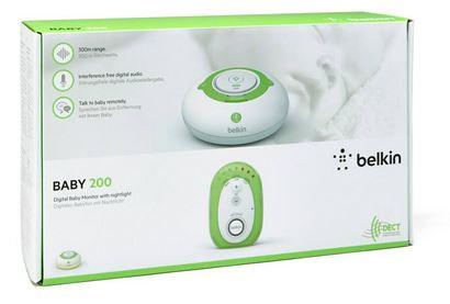 Belkin 200 Baby Monitor with Night Light and Talk Back Plus Free EU/UK Adaptor £18.99 @ The Hut