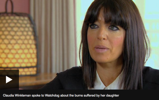 """Claudia Winkleman On Her Daughter's Halloween Costume Fire Injury: """"I Can't Remember Life Before It."""""""