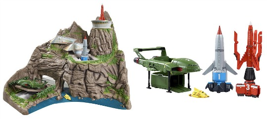 Pre-Order The NEW Thunderbirds Toys @ The Entertainer / Smyths Toys