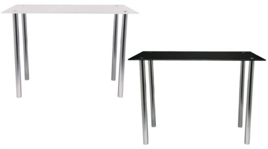 Jupiter Metal & Glass Desk Reduced From £75 To £19.50 @ Tesco Direct