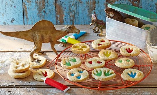 Make Dinosaur Footprint Biscuits!