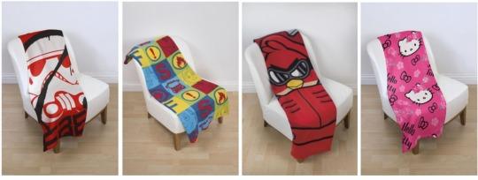 Kids Character Fleece Blankets was £7, now £4 @ Tesco Direct