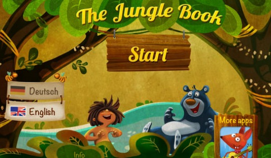 The Jungle Book Storybook Reading For Kids App FREE @ iTunes