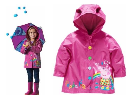 Peppa Pig Girls' Hooded Coat £7.99 @ Argos