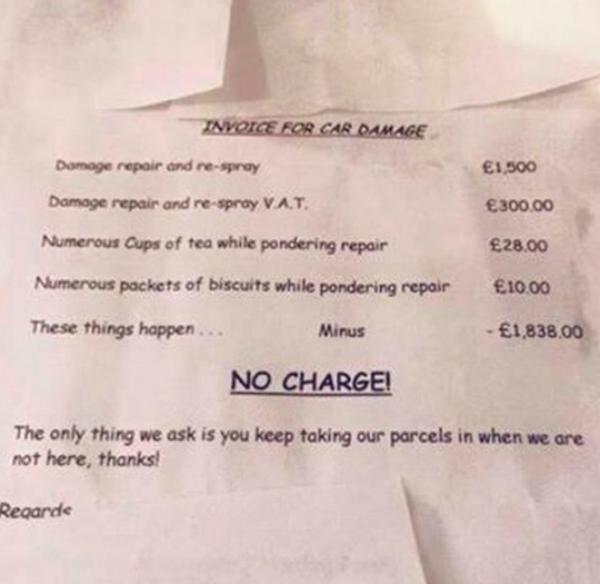 Neighbours Write Off Cost Of Repair After Parents Own Up To Toddler Damaging Car