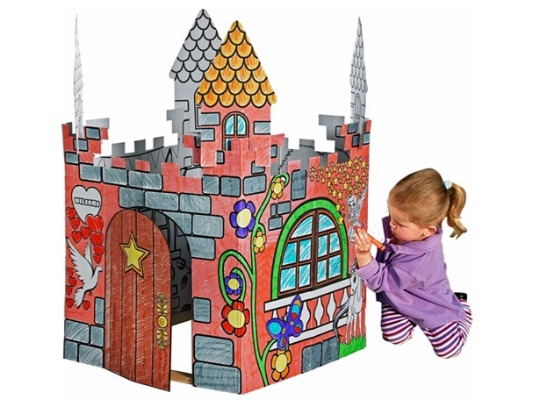 Chad Valley 2-in-1 Colour In Castle £4.99 @ Argos