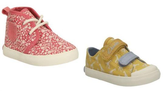 MORE Children's Footwear Bargains: Shoes From £9 Delivered @ Clarks