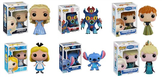 Disney Pop Vinyl Figures £7.99 each with FREE Delivery TODAY ONLY @ Zavvi