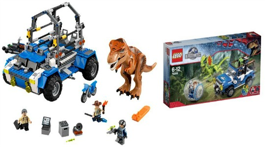 Lego Jurassic World Sets Now Available: Starting From £17.97 @ Amazon