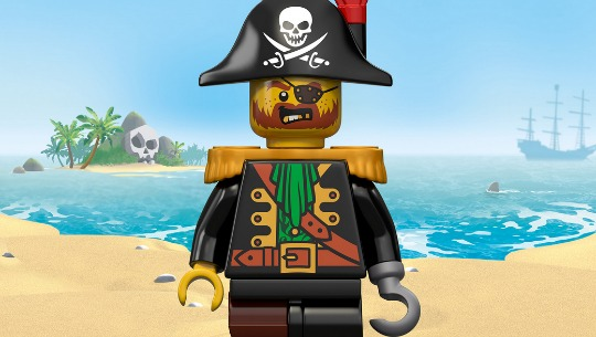 FREE Lego Pirates Mini Build, Treasure Hunt & Gift With Purchase @ Lego Stores from 2nd July