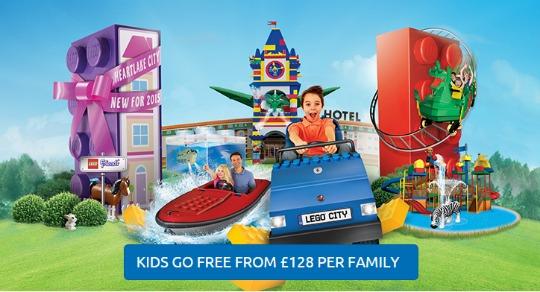 FLASH SALE: Summer Short Breaks from £128 per family @ Legoland Windsor Resort