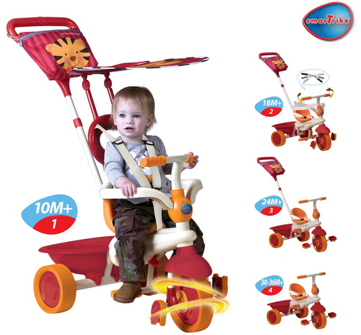 SmarTrike 4-in-1 Safari With Touch Steering: was £79.99, now £40 @ Amazon