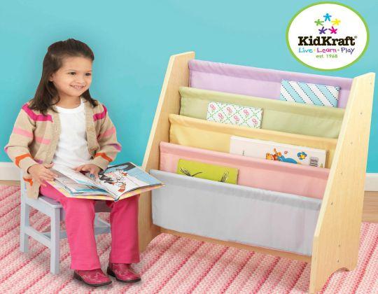 KidKraft Pastel Sling Bookshelf £47.51 Delivered @ Amazon