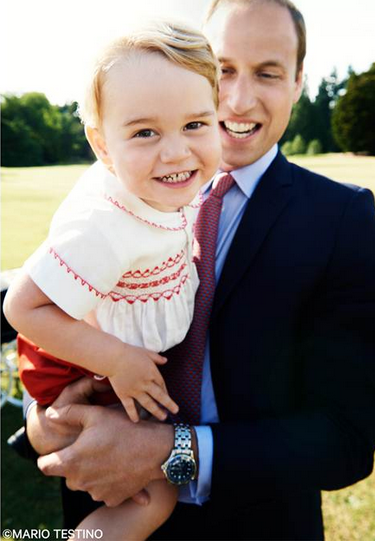Royal Family Share Adorable Snap Of Prince George Ahead Of Second Birthday Celebrations