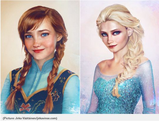Ever Wondered What Anna & Elsa Would Look Like If They Were Real?