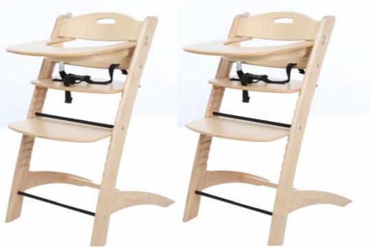 BabyStart Wooden Highchair £24.99 @ Argos