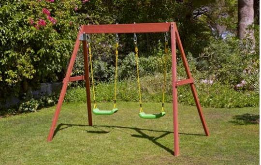 Chad Valley Wooden Double Swing £52.99 (+£8.95 Del) @ Argos