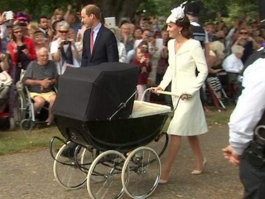 Princess Charlotte Is Christened at Sandringham