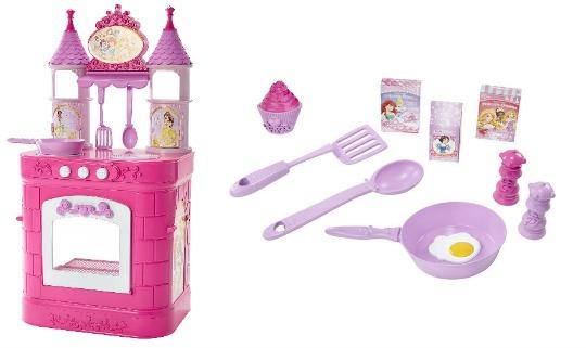 Disney Princess Kitchen With 17 Piece Tea Set £25.42 (With Code) @ Toys R Us