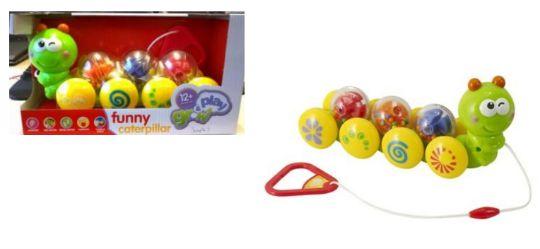Product Recall: Sainsbury's Grow and Play Funny Caterpillar