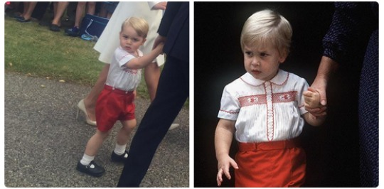 Order Prince George's Outfit For Princess Charlotte's Christening @ Rachel Riley