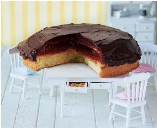 Make a GIANT Jaffa Cake with Asda Recipes